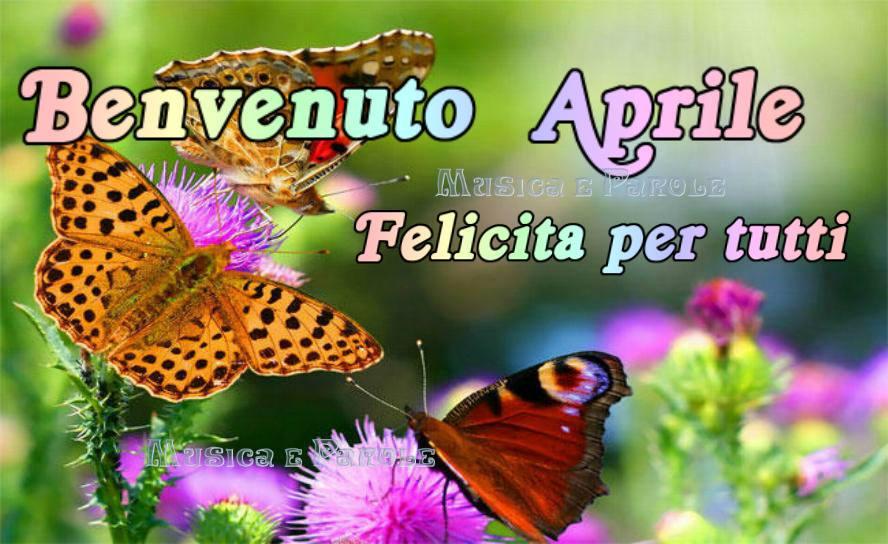 Benvenuto Aprile, Felicita per tutti