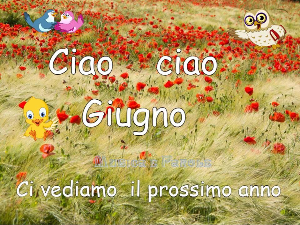 Ciao ciao Giugno