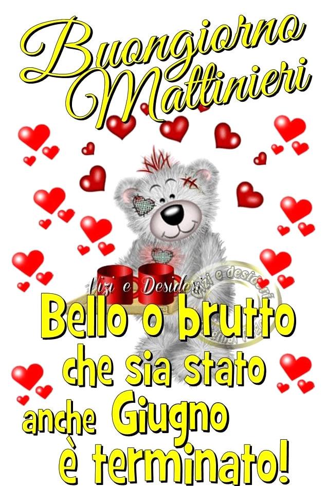 Buongiorno Mattinieri. Bello o...