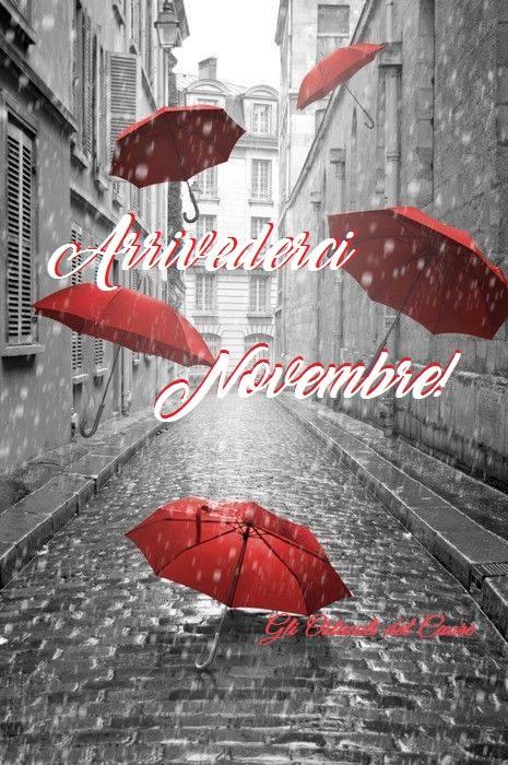 Arrivederci Novembre!