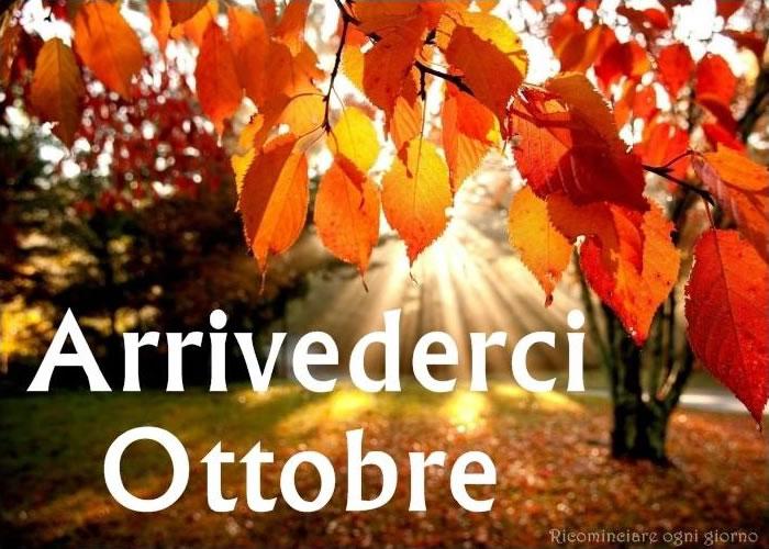 Arrivederci Ottobre