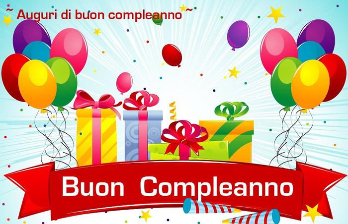 Connu Buon Compleanno immagini e fotos gratis per Facebook - TopImmagini DS44