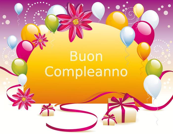 Bien-aimé Buon Compleanno immagini e fotos gratis per Facebook - TopImmagini TT41