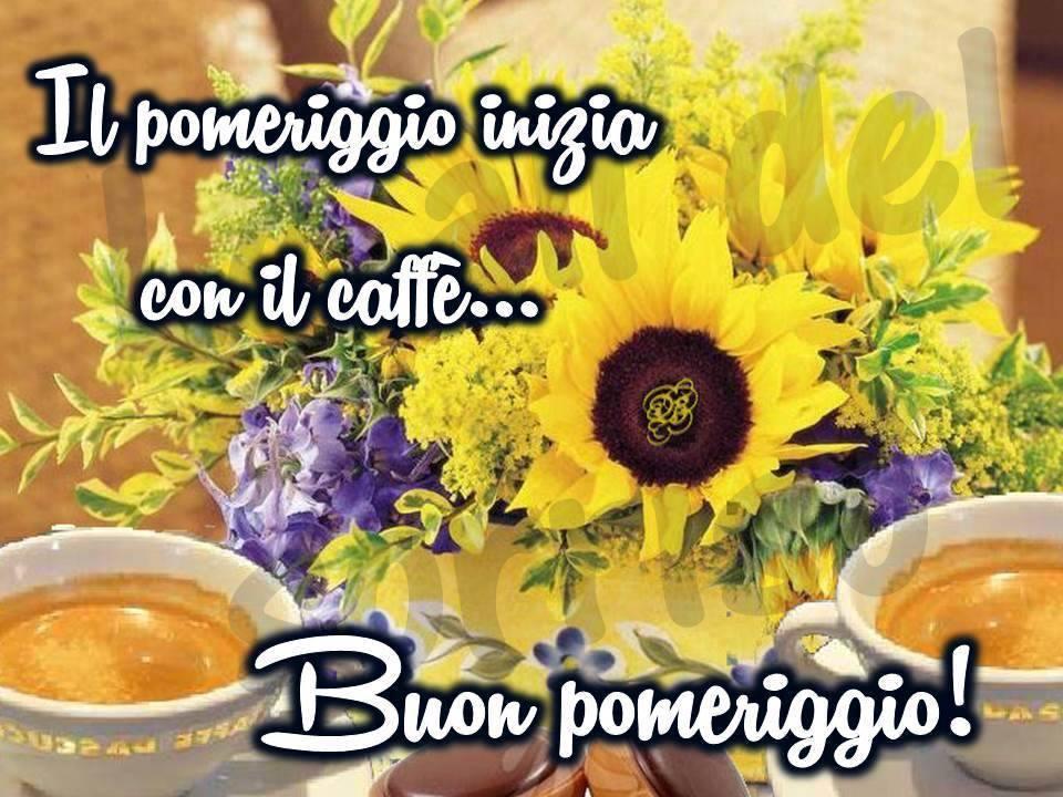Il pomeriggio inizia con il caff buon pomeriggio for Immagini buon pomeriggio due chiacchiere