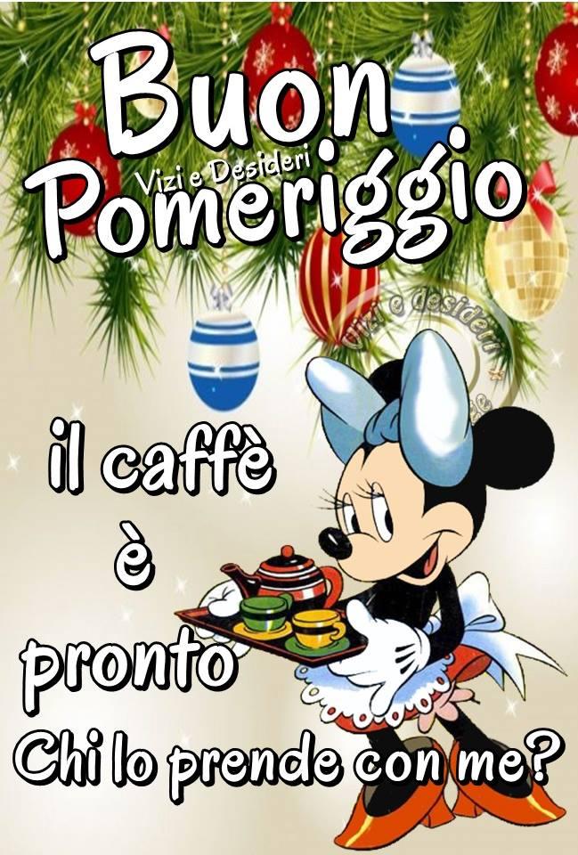 Buon Pomeriggio, il caffè è pronto, chi lo prende con me?