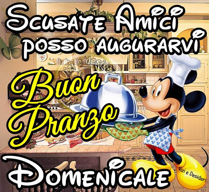 Buon Pranzo Domenicale immagini e fotos gratis per Facebook - TopImmagini