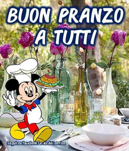 Buon Pranzo a tutti!