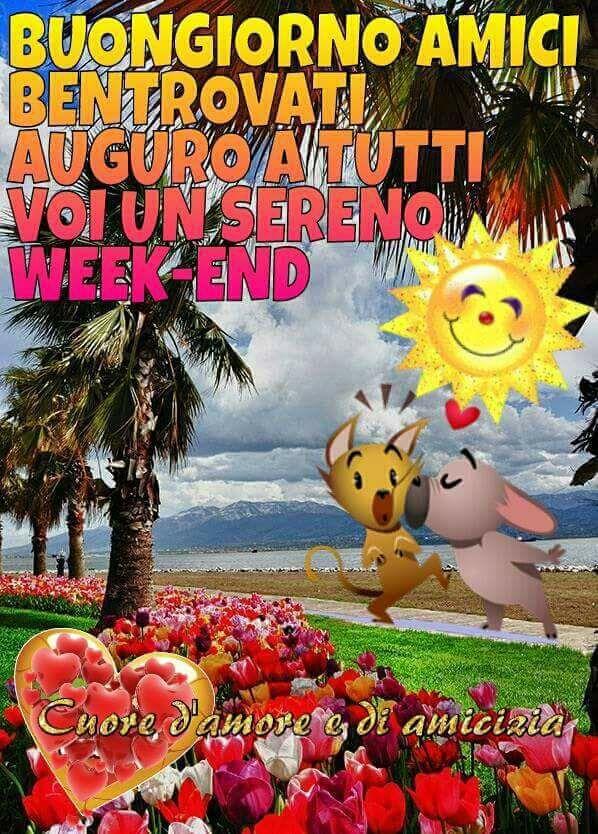 Favorito Buon week-end immagini e fotos gratis per Facebook - TopImmagini KA42