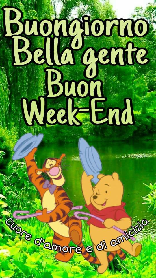 Buongiorno belle gente... Buon Week-End