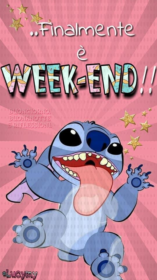 Finalmente è week-end...