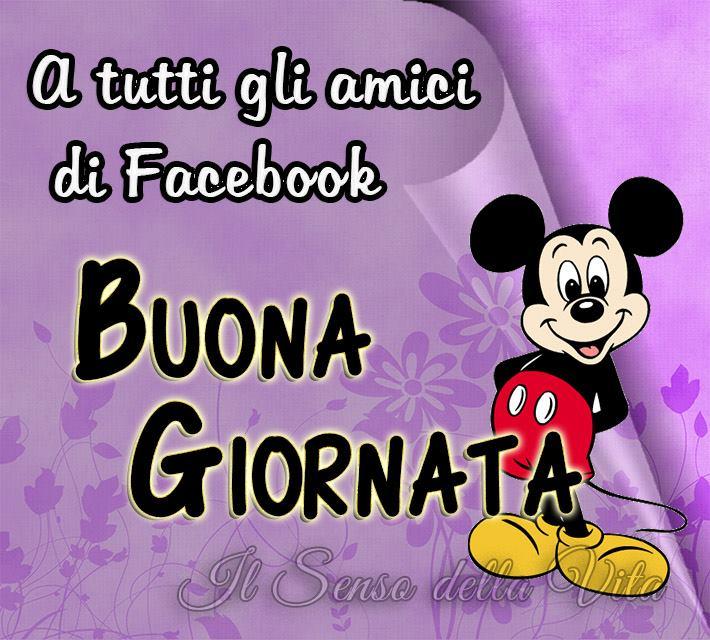 A tutti gli amici di Facebook... Buona Giornata