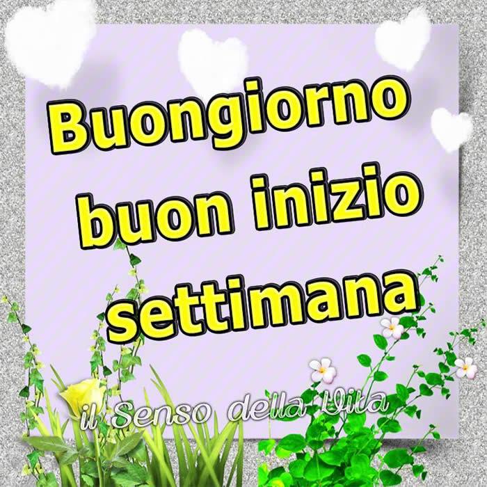 Buongiorno Buon Inizio Settimana Buona Settimana Immagine 459