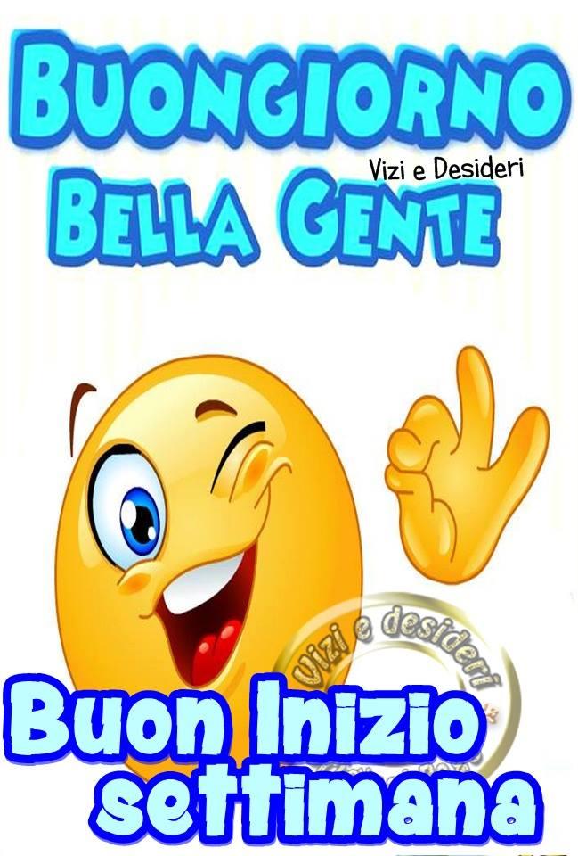 Célèbre Buona Settimana immagini e fotos gratis per Facebook - TopImmagini  UO09