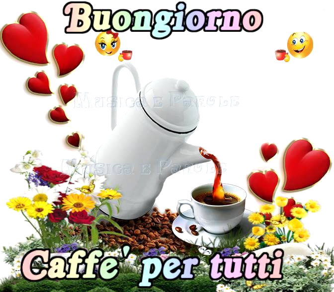 Buongiorno, caffè per tutti