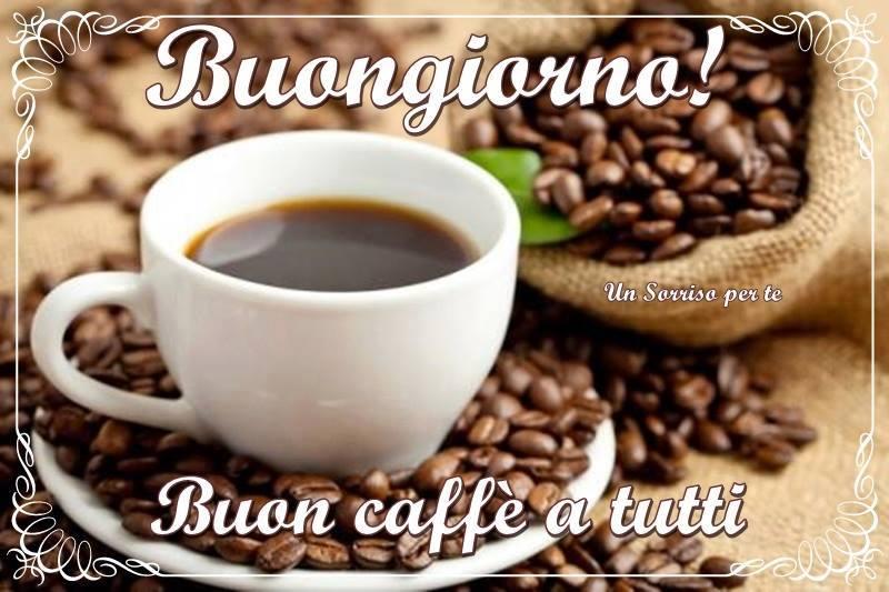 Buongiorno! Buon caffè a tutti