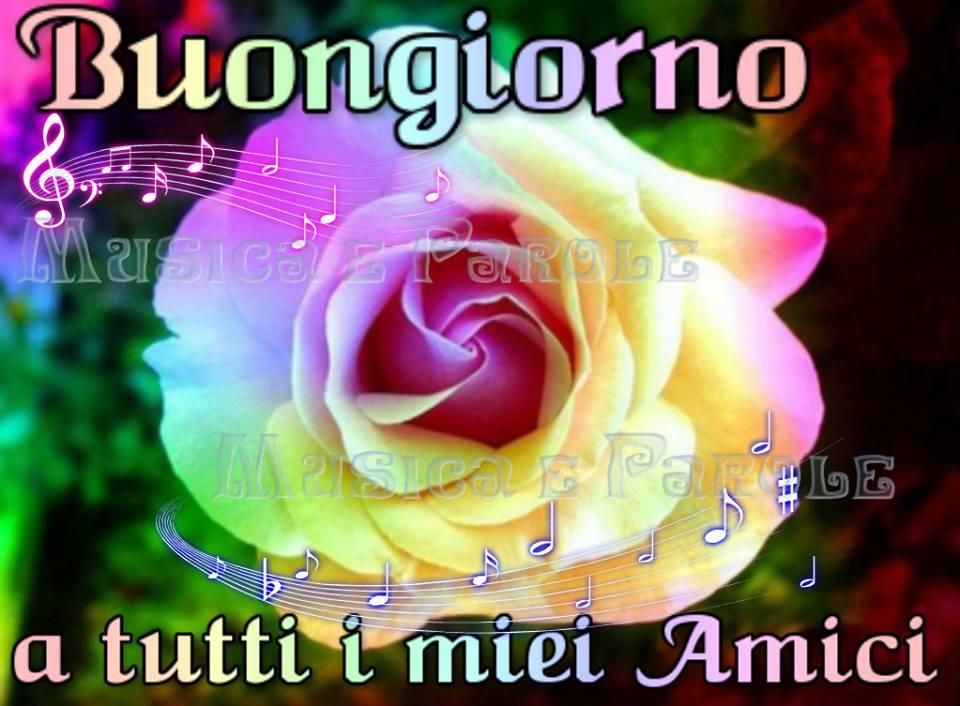 Buongiorno a tutti miei amici