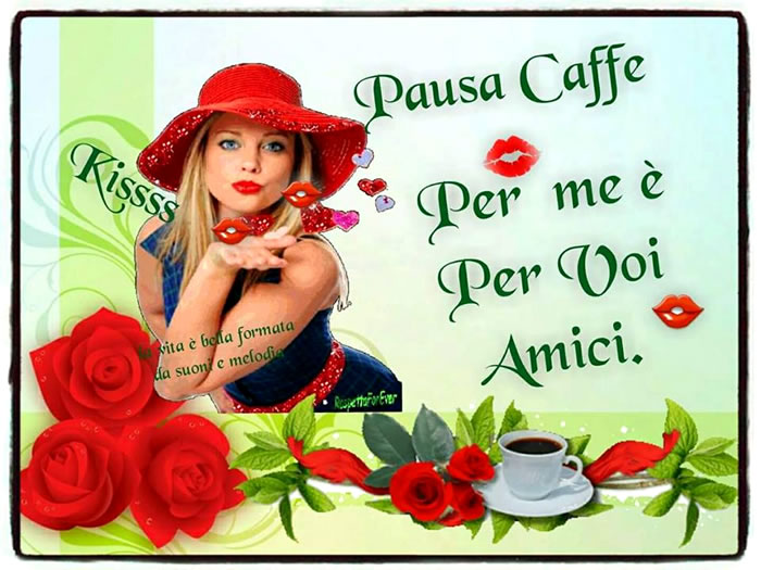 Pausa Caffè per me e per voi amici
