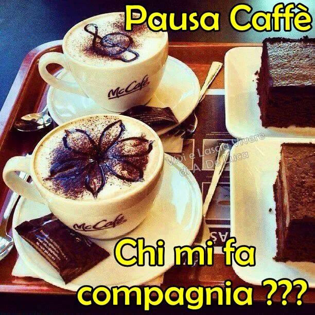 Pausa Caffè. Chi mi fa compagnia ???