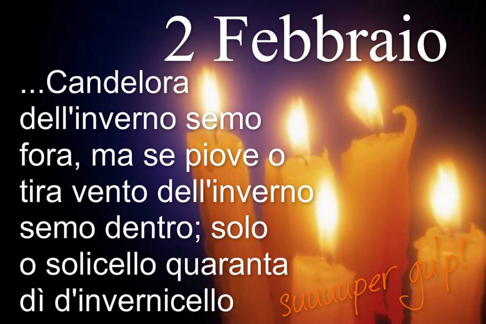 2 Febbraio - Candelora