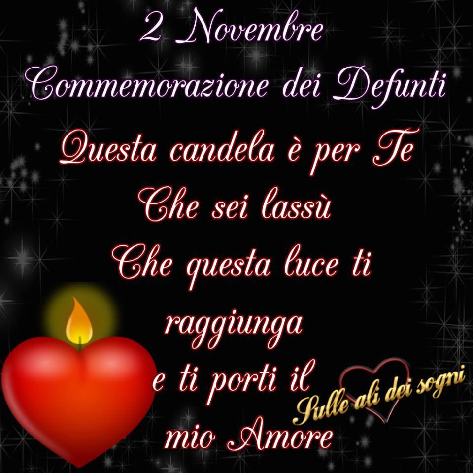 2 Novembre. Commemorazione dei...