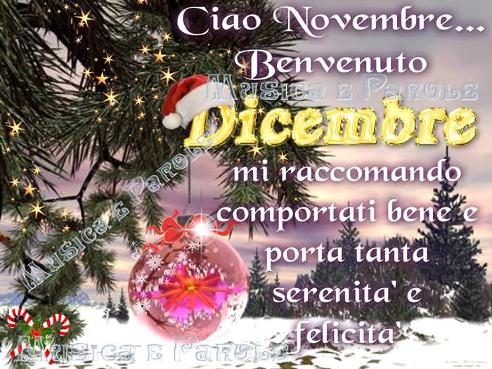 Benvenuto dicembre immagini e fotos gratis per facebook for Frasi su dicembre