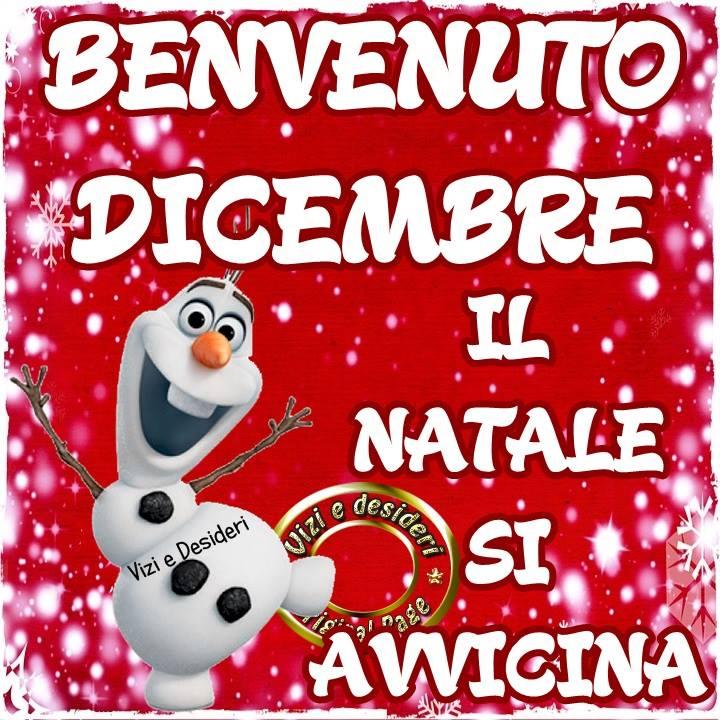 Benvenuto Dicembre, il natale si avvicina