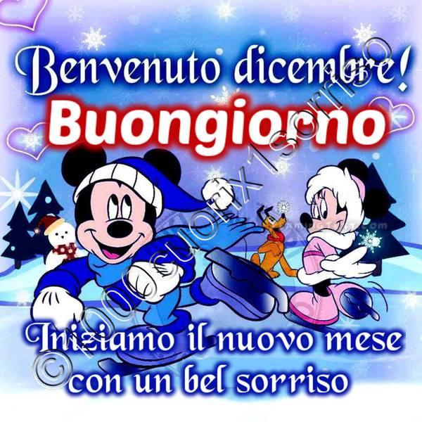 Benvenuto Dicembre! Buongiorno