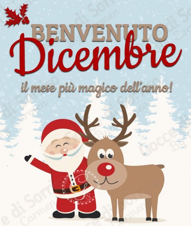 Benvenuto Dicembre, il mese più magico dell'anno!