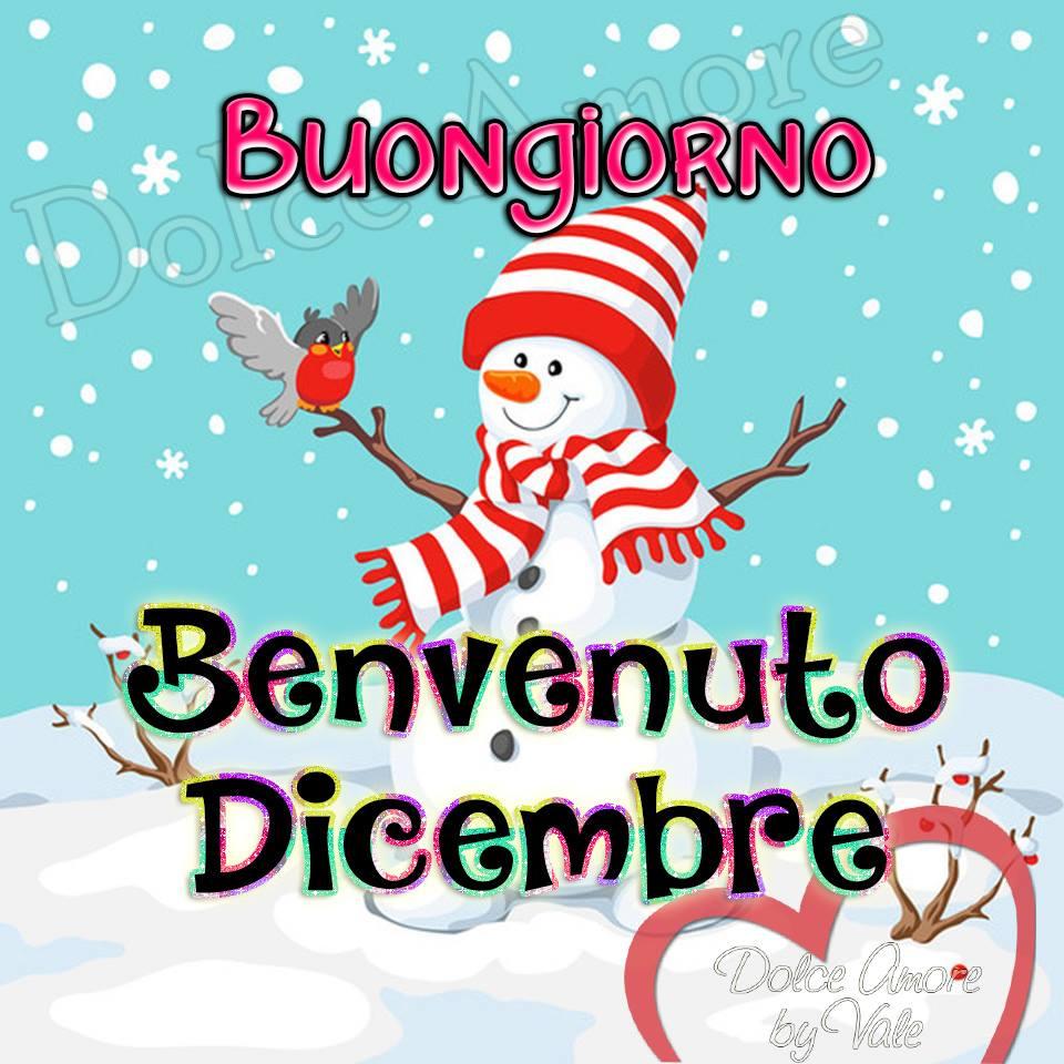 Buongiorno, Benvenuto Dicembre