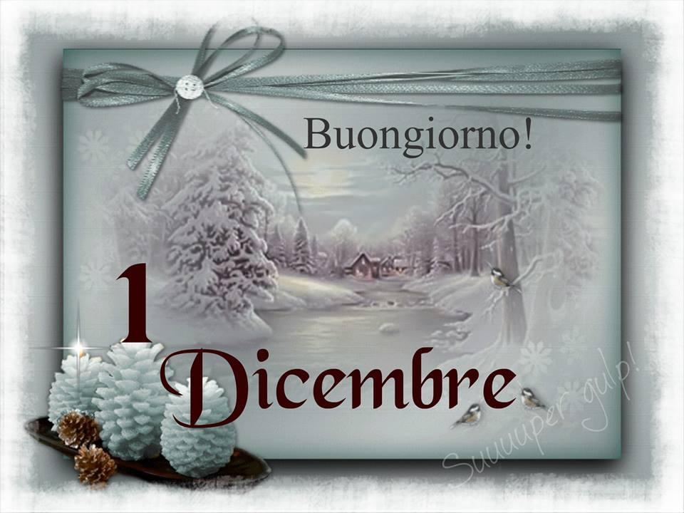 Buongiorno! 1 Dicembre