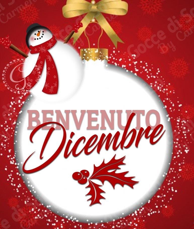 Benvenuto Dicembre