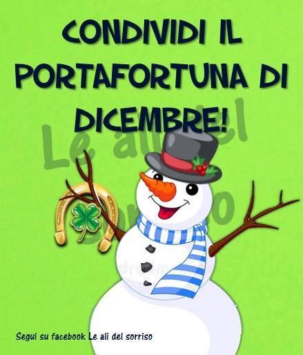 Condividi il portafortuna di Dicembre!