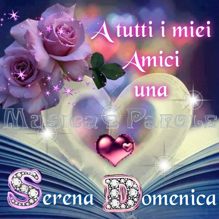 A Tutti I Miei Amici Una Serena Domenica Domenica Immagine 613