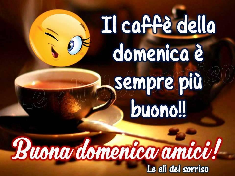 Il caffè della domenica é sempre più buono!