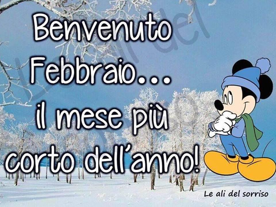 Benvenuto Febbraio... il mese piu corto dell'anno!