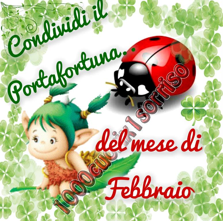 Condividi il Portafortuna... del mese di Febbraio