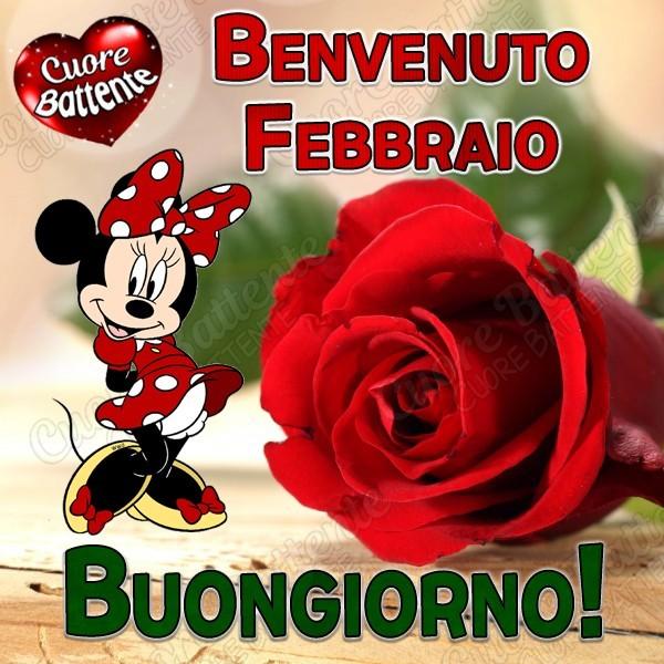 Benvenuto Febbraio. Buongiorno!
