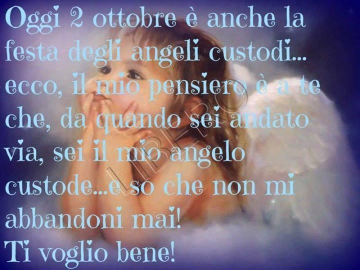 Populaire Oggi 2 ottobre è anche la festa degli angeli custodi immagine  MK74