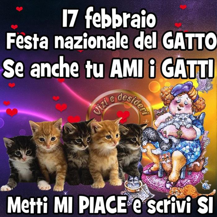 17 febbraio, Festa nazionale del Gatto