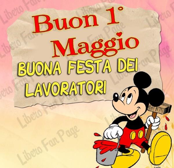 Buon 1º Maggio, Buona Festa dei...