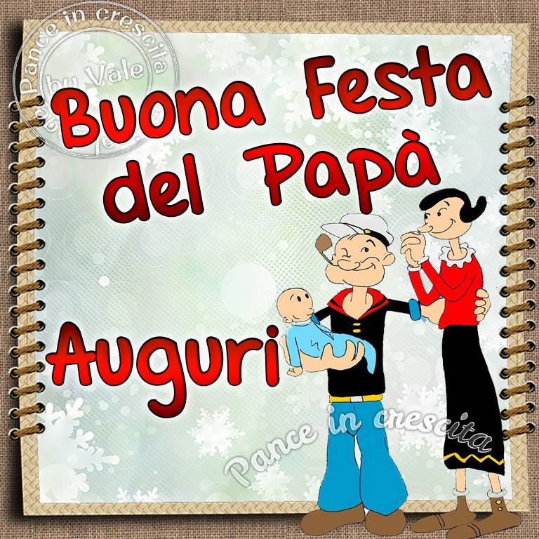 Buona Festa del Papà Auguri