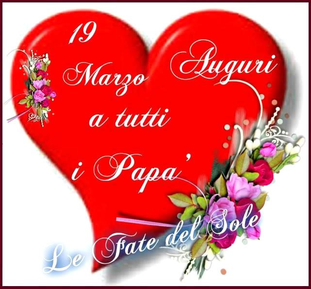 19 Marzo Auguri A Tutti I Papà Festa Del Papà Immagine 3461
