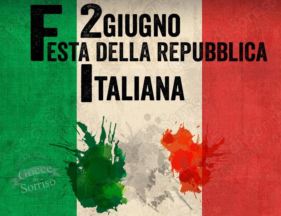 2 Giugno. Festa della Repubblica Italiana