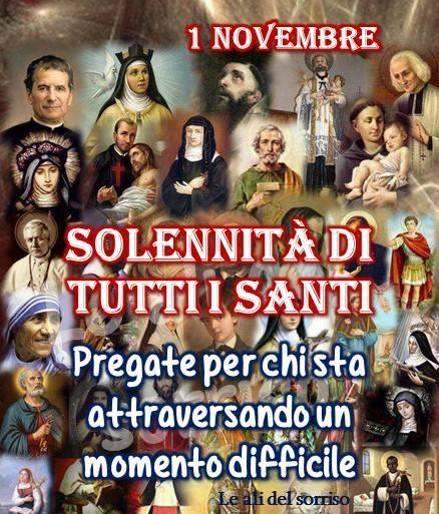 1 Novembre, Solennità di tutti i santi