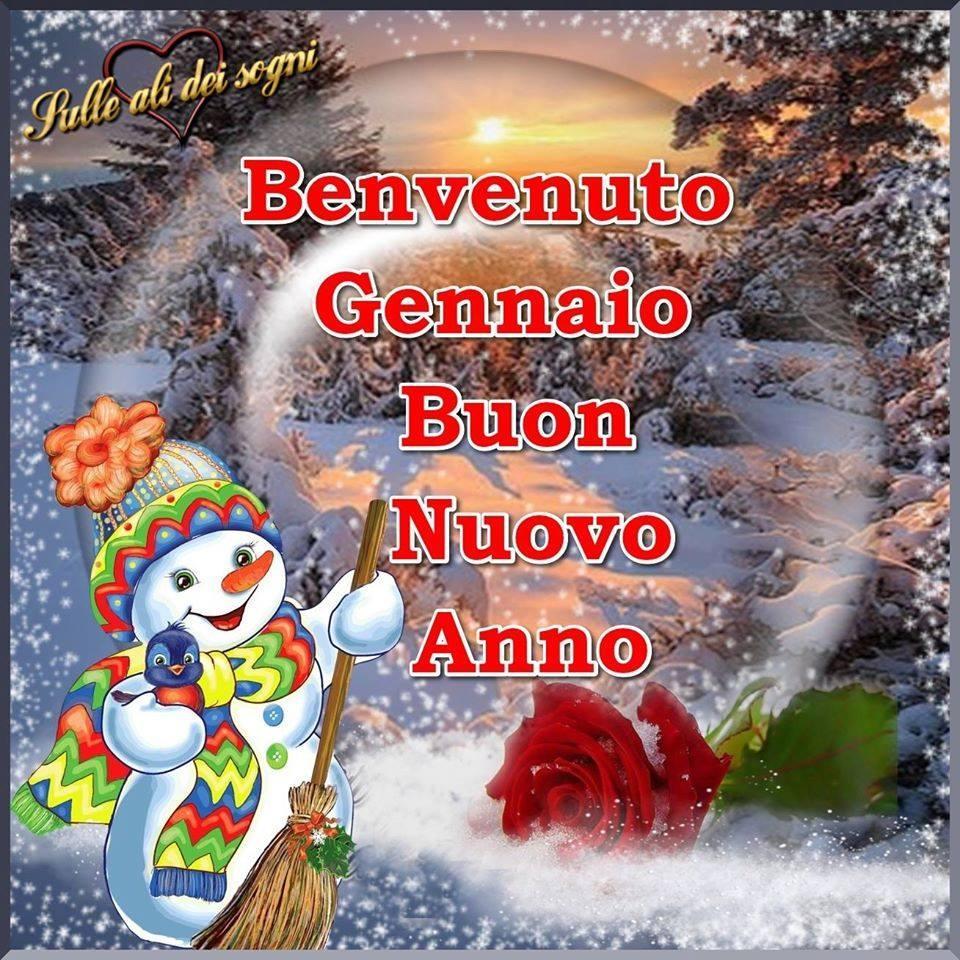 Benvenuto Gennaio Buon Nuovo...