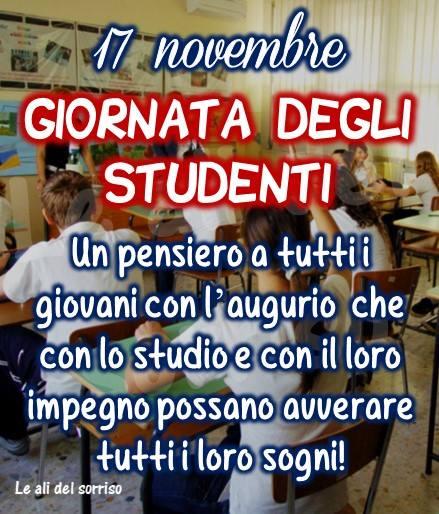 17 novembre, Giornata degli Studenti