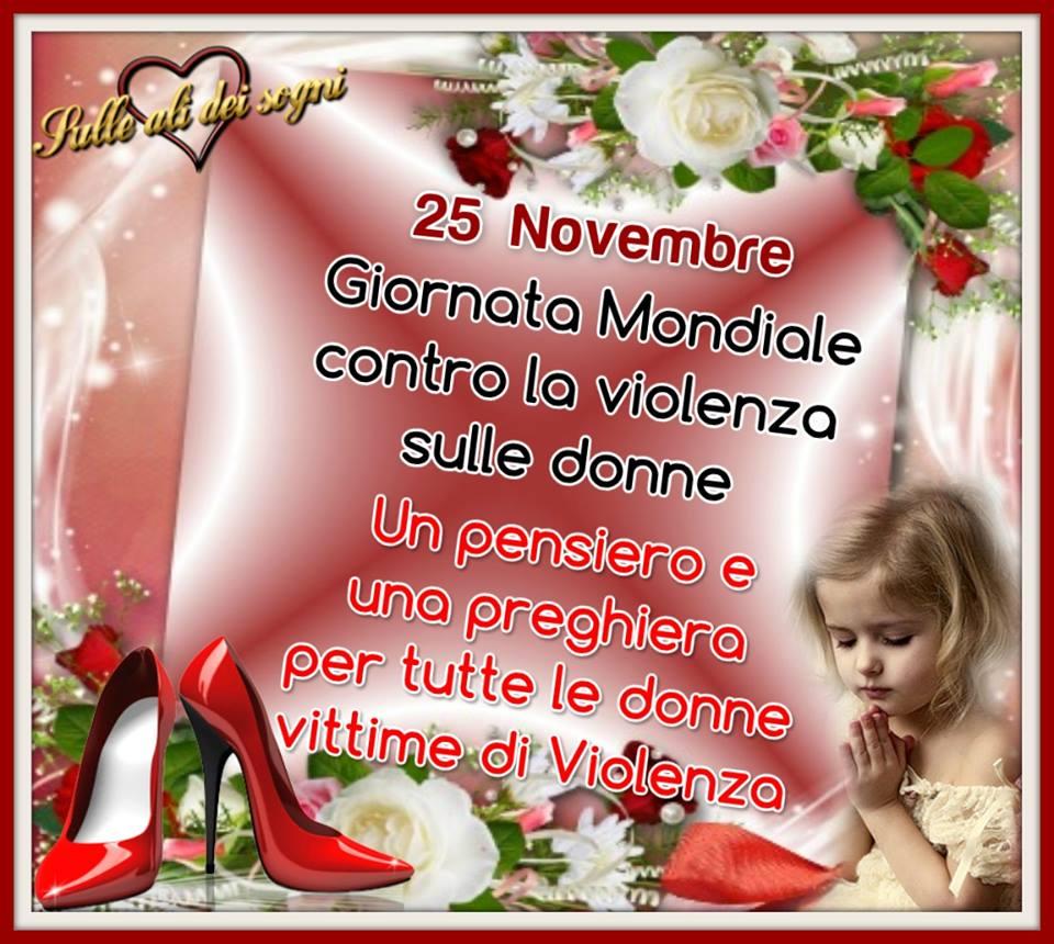 25 Novembre - Giornata mondiale contro la violenza sulle