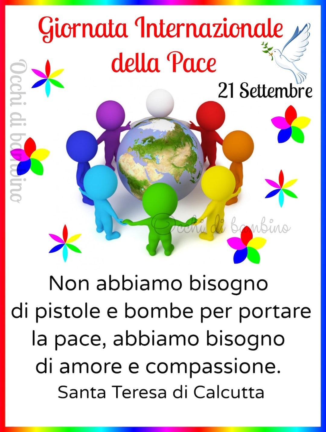 Giornata Mondiale Della Pace immagine 1