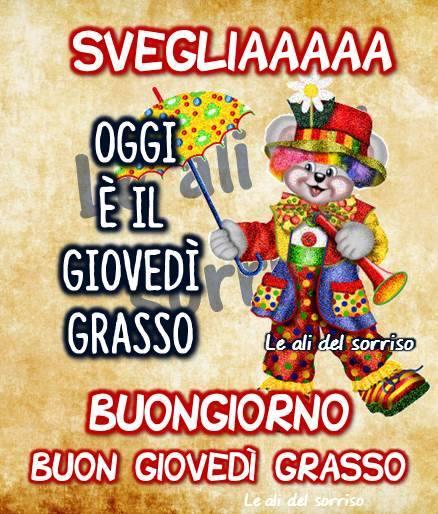 Buongiorno, Buon Giovedì Grasso