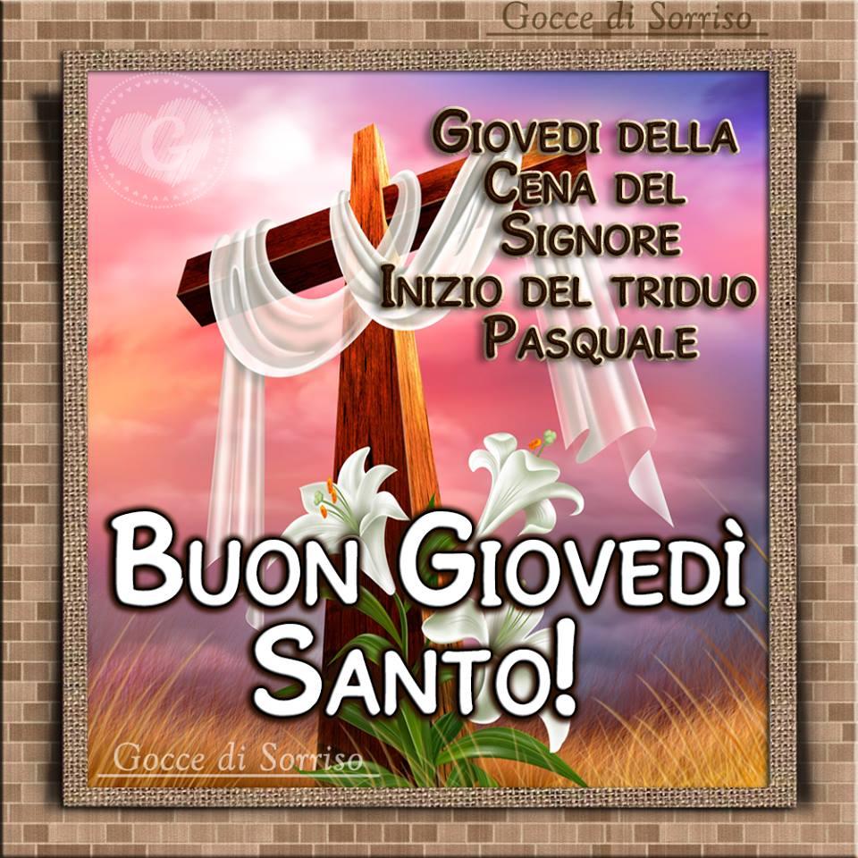 Buon Giovedì Santo!